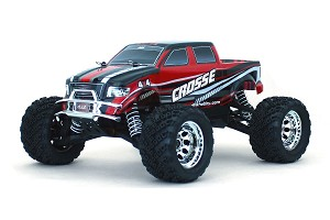 DHK HOBBY - CROSSE BRUSHLESS 1/10 4WD MONSTER TRUCK, RTR, NO BATTERY OR CHARGER