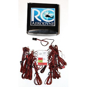 Scale LED Lighting System for RC Helicopters & Airplanes