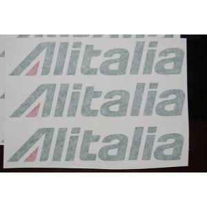 Alitalia Decal set for 500 size