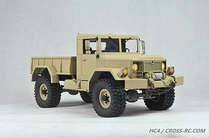 HC4 Off Road Military Truck Kit, 1/10 Scale, 4x4