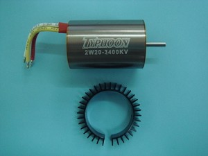 HET Typhoon Brushless Motor 3400KV