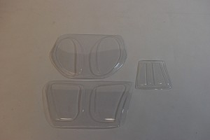MD500 500 SIZE Windows Replacement Set
