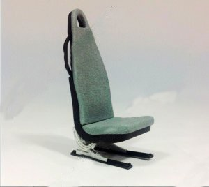 Scale seat 1/7 164mm*64mm*100mm (Blue)