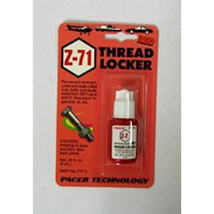 ZAP Z-71 RED THREADLOCKER-.2 OZ.