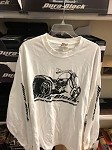 DURABLOCK long sleeve white TSHIRT-XXL
